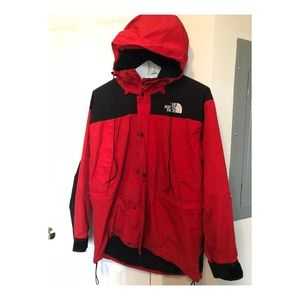Red Waterproof The North Face Jacket Men's Large